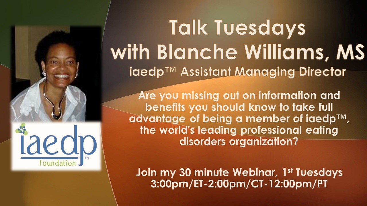 Talk Tuesdays with Blanche
