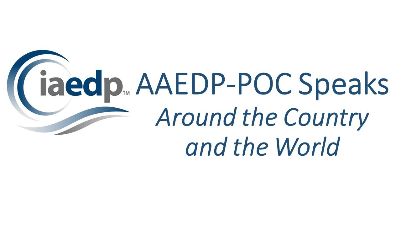 AAEDP-POC Speaks