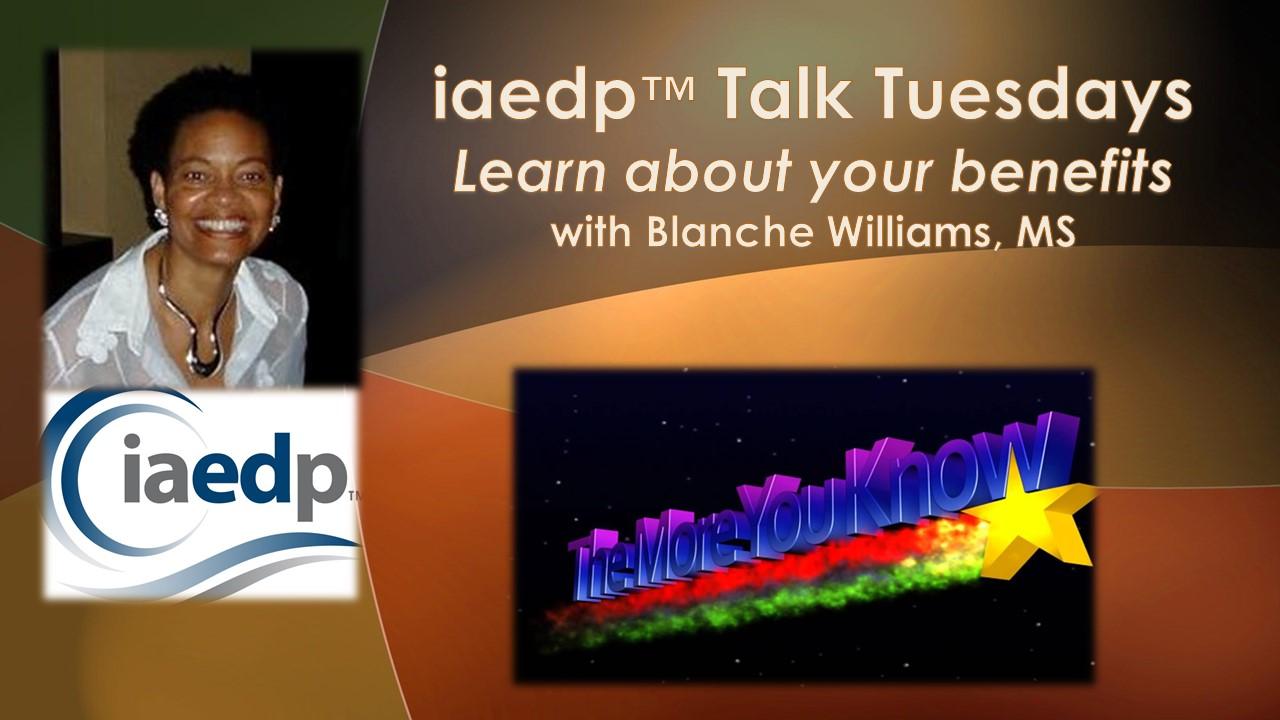 Talk Tuesdays with BlanchePWPT