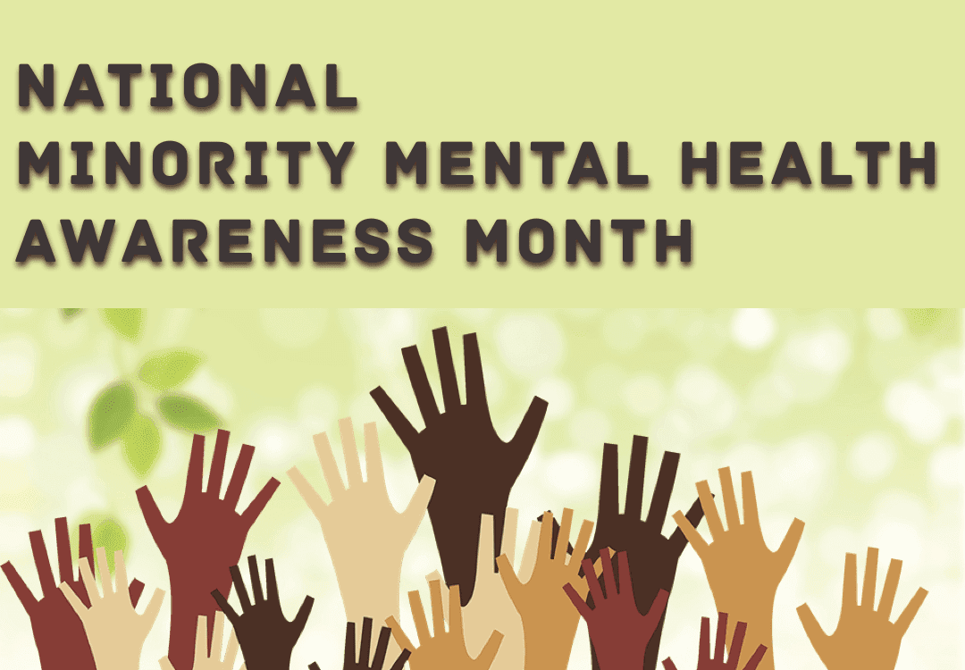 Minority mental awareness month July2020
