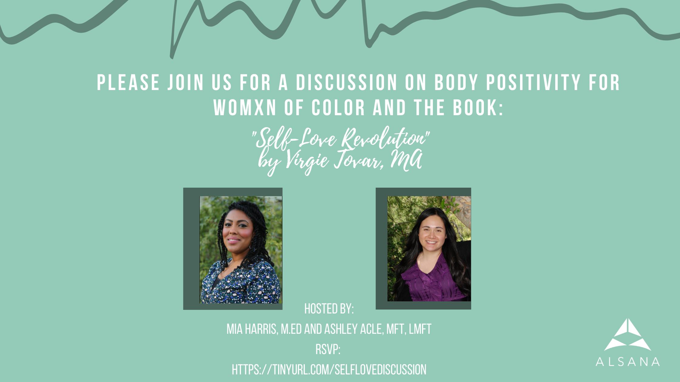 Self Love Book Discussion Invite