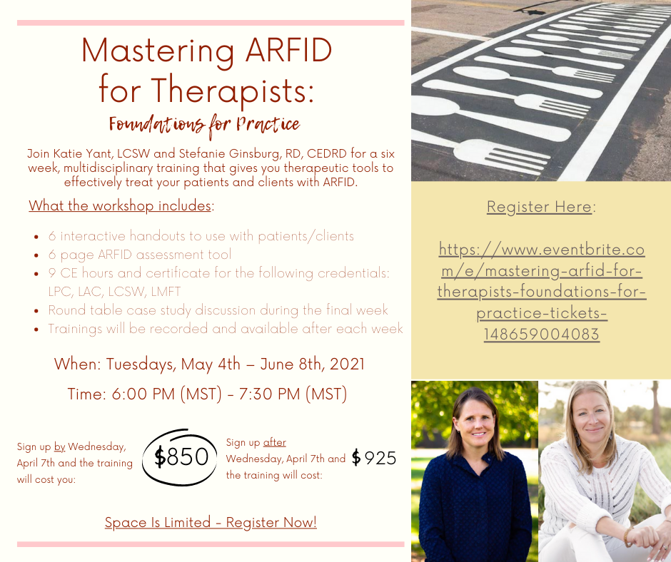 Mastering ARFID for Therapist_ Foundations for Practice Facebook Post
